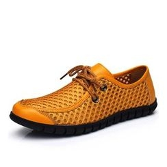 EnllerviiD - Genuine Leather Oxford Shoes