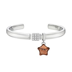 Kenny & co. - Share Of Love Crystal Steel Bangle