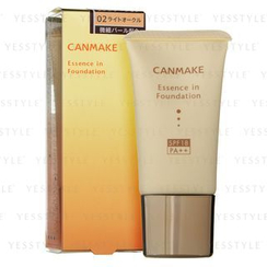 Canmake - Essence in Foundation (#02 Light Ochre)