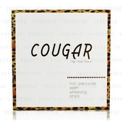 Cougar Beauty Products - Cougar Deluxe Non Peroxide Teeth Whitening Strips