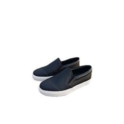 Ohkkage - Faux-Leather Slip-On Shoes