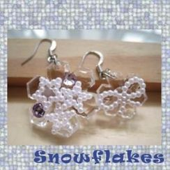 Fit-to-Kill - Big and Small Snowflake Earrings