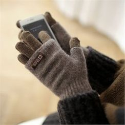 Styleberry - Layered Wool Blend Gloves