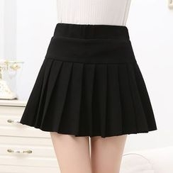 Romantica - Pleated Mini Skirt
