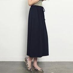 Stylementor - Band-Waist Maxi Skirt