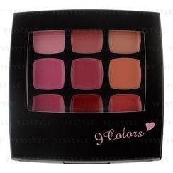 Dear Laura - 9 Colors Cheek and Lip Palette (#CP-09 Coral)