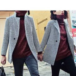 Bay Go Mall - Couple Matching Wool Coat