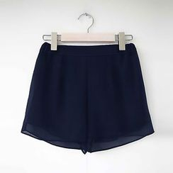 LITI - 雪纺短裤