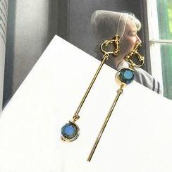 Pop Lop - Bar Drop Clip-On Earrings/ Earrings