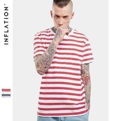 Newin - Short-Sleeve Striped T-Shirt