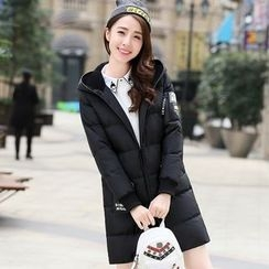 Pipafellow - Hooded Zip Down Coat