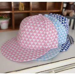 59 Seconds - Triangle Pattern Baseball Cap