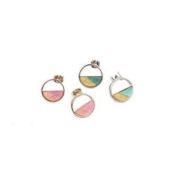 migunstyle - Round Earrings