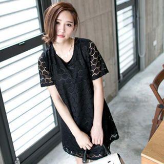Tokyo Fashion - Cutout Shift Dress