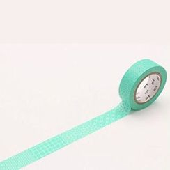 mt - mt Masking Tape : mt 8P Line Pattern Green (8 Pieces)