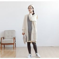 Forest Girl - Hooded Long Cardigan