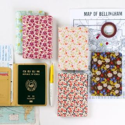 iswas - Floral Pattern Passport Case