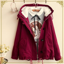 Fairyland - Fleece-Lined Hooded Jacket