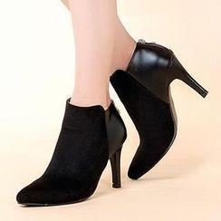 Mancienne - Panel Shoe Boots