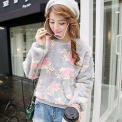 Ashlee - Floral Sweatshirt