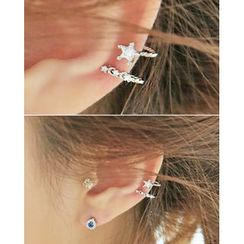 Miss21 Korea - Star Ear Cuff (Single)