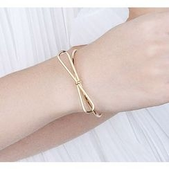Wind Valley - Metal Bow Bangle