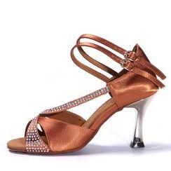 恋上舞 - 缀饰拉丁舞鞋