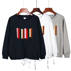 Lina - Color Block Sweatshirt
