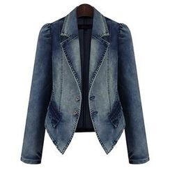 Quintess - Washed Denim Jacket