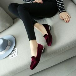 Megan - Faux-Suede Loafers