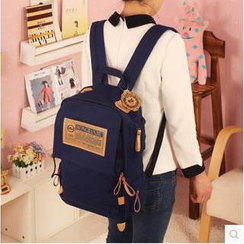 MooMoo Shop - Canvas Backpack