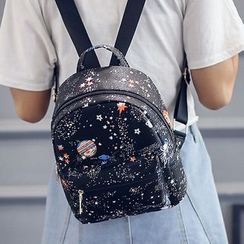 Youme - Galaxy Print Backpack