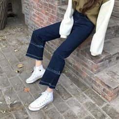 Dute - Panel Fray Jeans