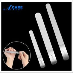 Acare - 不锈钢圆头指甲锉