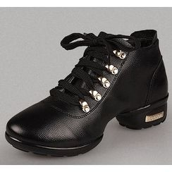 Danceon - Genuine Leather Dance Ankle Boots
