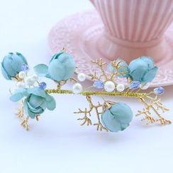 constello - Flower Bridal Headpiece