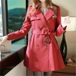 mimi & didi - Double-Breasted Trench Coat