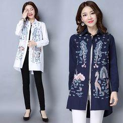 Yeeya - Print Long Shirt
