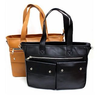 MURATI - Faux-Leather Tote