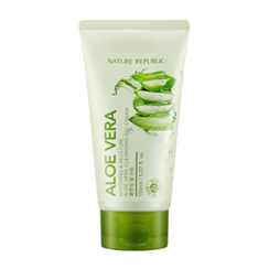 Nature Republic - Soothing & Moisture Aloe Vera Cleansing Gel Cream 150ml