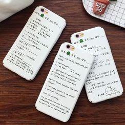 Homap - Printed Mobile Case - iPhone 6 / 6 Plus