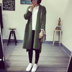 Yarnfield - Plain Long Cardigan