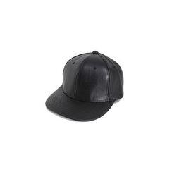 MODSLOOK - Faux-Leather Cap