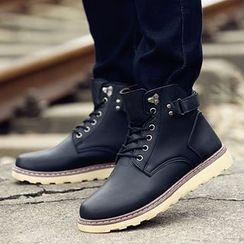 MARTUCCI - 扣带及踝靴