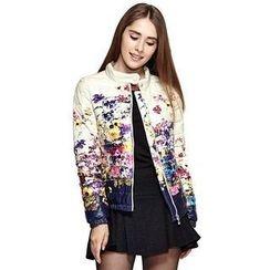 O.SA - Floral Down Jacket