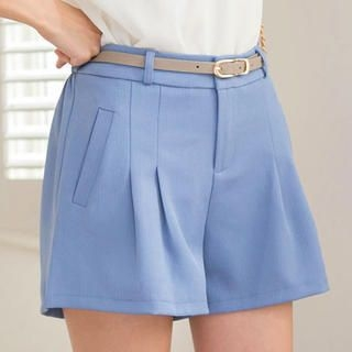 Tokyo Fashion - Belted Pleated Shorts