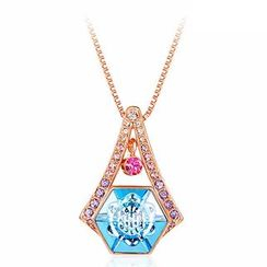 Italina - Swarovski Elements Crystal Pendant Necklace