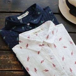 YOYO - 印花襯衫