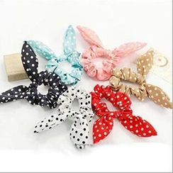 MissYou - Polka Dot Ear Accent Hair Tie