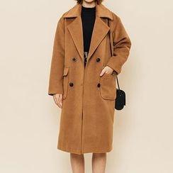 Heynew - Double-Breasted Coat